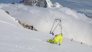 CERVINIA, ski test